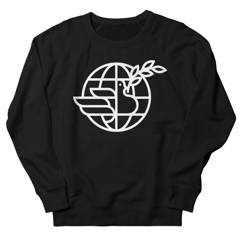 Peace in the World Women's Sweatshirt by Koivo's Artist Shop