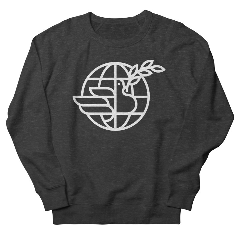 Peace in the World Men's Sweatshirt by Koivo's Artist Shop