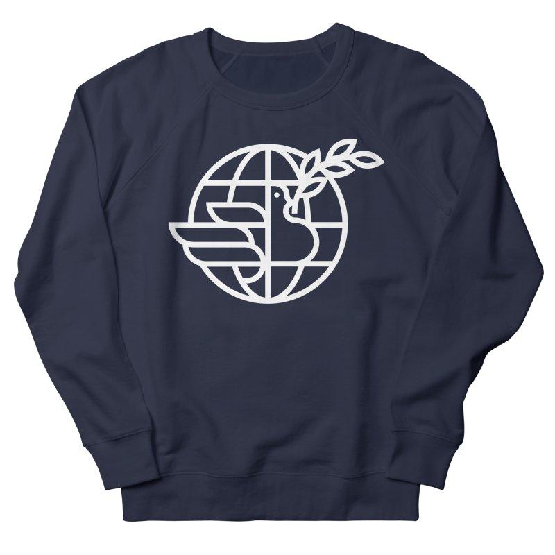 Peace in the World Men's Sweatshirt by Koivo's Artist Shop