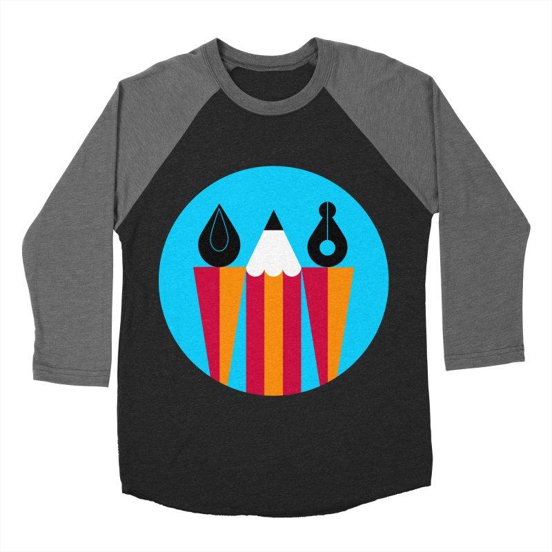 Koivo Creative Sign Men's Baseball Triblend T-Shirt by Koivo's Artist Shop