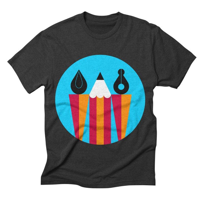 Koivo Creative Sign Men's Triblend T-shirt by Koivo's Artist Shop
