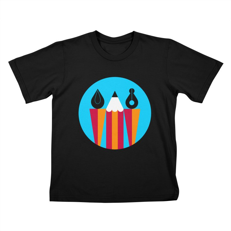 Koivo Creative Sign Kids T-Shirt by Koivo's Artist Shop