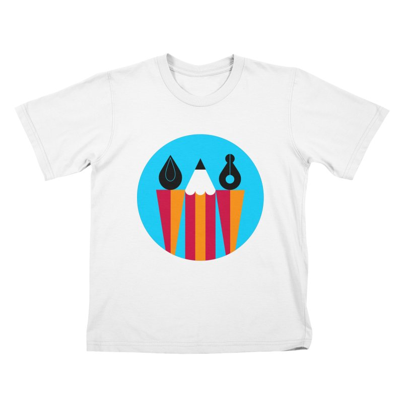 Koivo Creative Sign Kids T-shirt by Koivo's Artist Shop