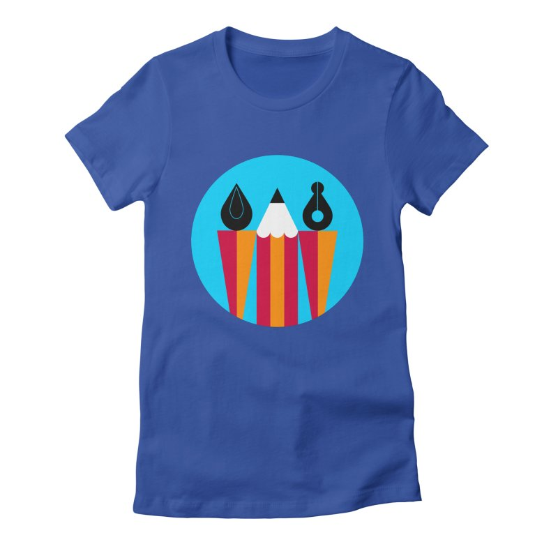 Koivo Creative Sign Women's Fitted T-Shirt by Koivo's Artist Shop