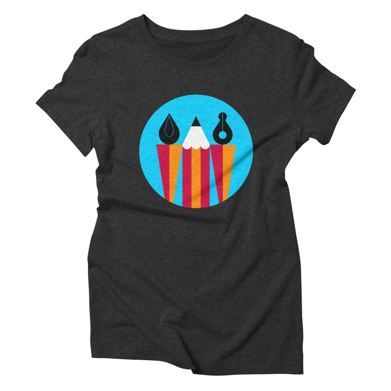 Koivo Creative Sign Women's Triblend T-Shirt by Koivo's Artist Shop