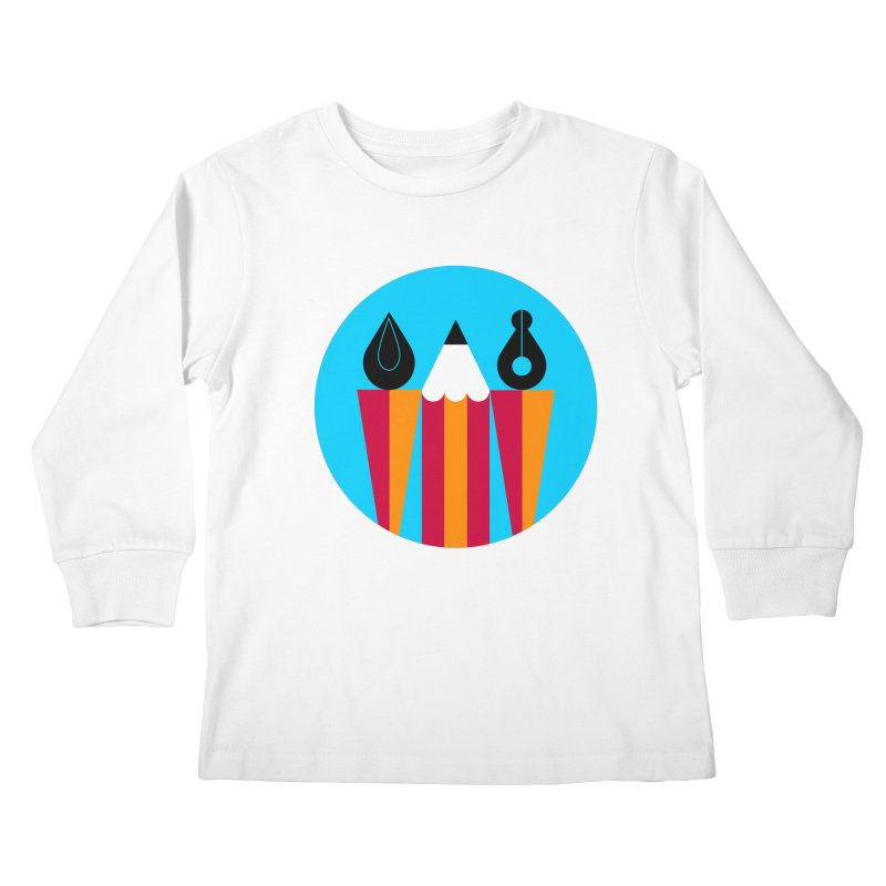 Koivo Creative Sign Kids Longsleeve T-Shirt by Koivo's Artist Shop