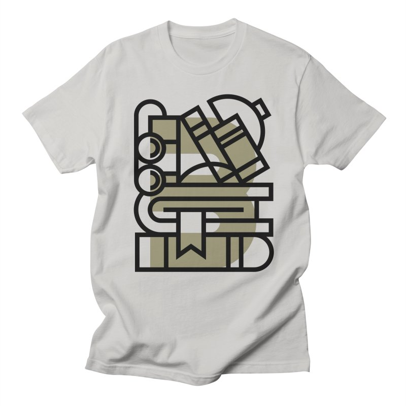 B for Books Men's T-Shirt by Koivo's Artist Shop