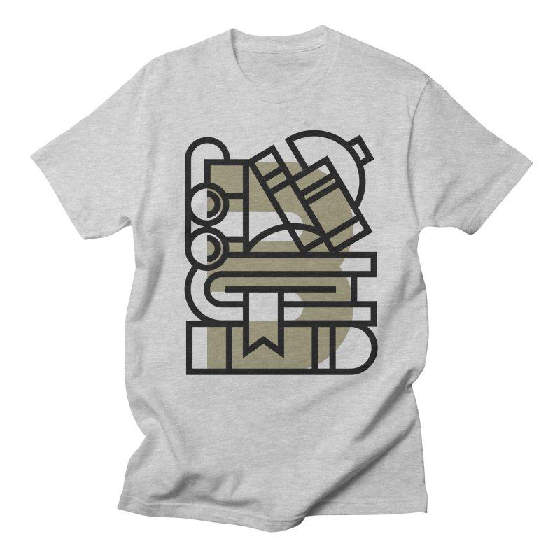 B for Books Men's T-shirt by Koivo's Artist Shop