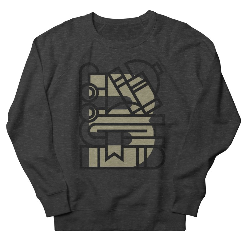 B for Books Men's Sweatshirt by Koivo's Artist Shop