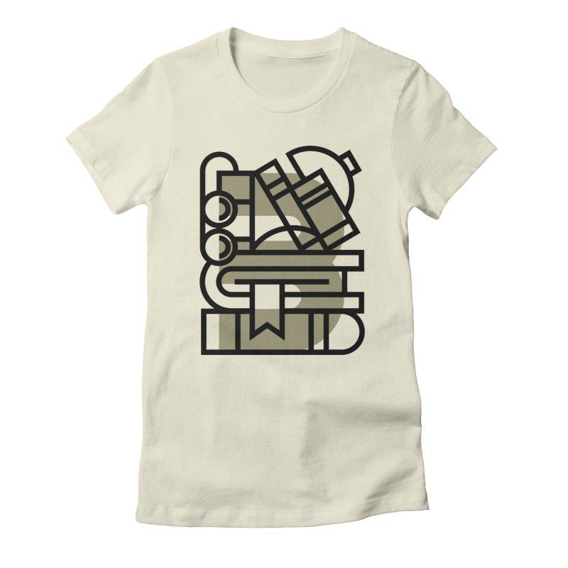 B for Books Women's T-Shirt by Koivo's Artist Shop
