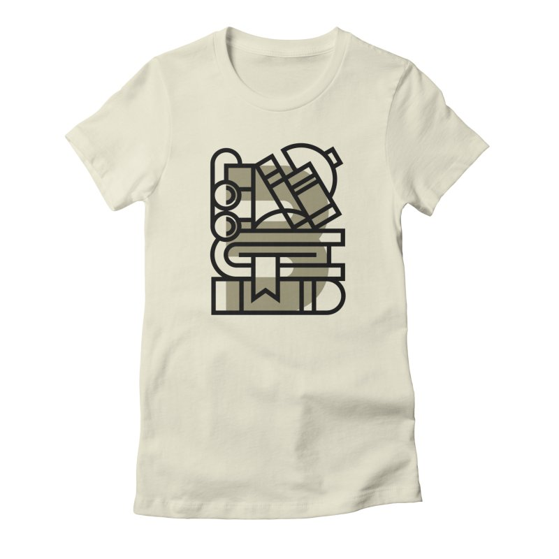 B for Books Women's T-Shirt by Koivo's Artist Shop