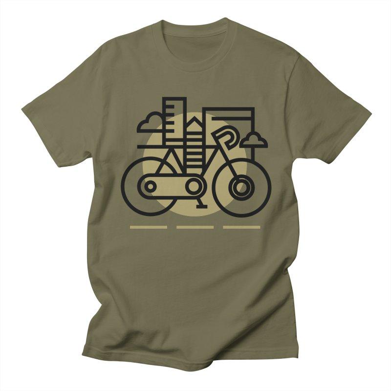 City Bike Men's T-Shirt by Koivo's Artist Shop