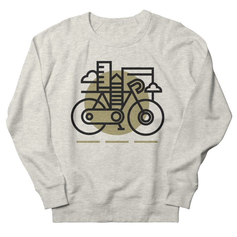 City Bike Women's Sweatshirt by Koivo's Artist Shop