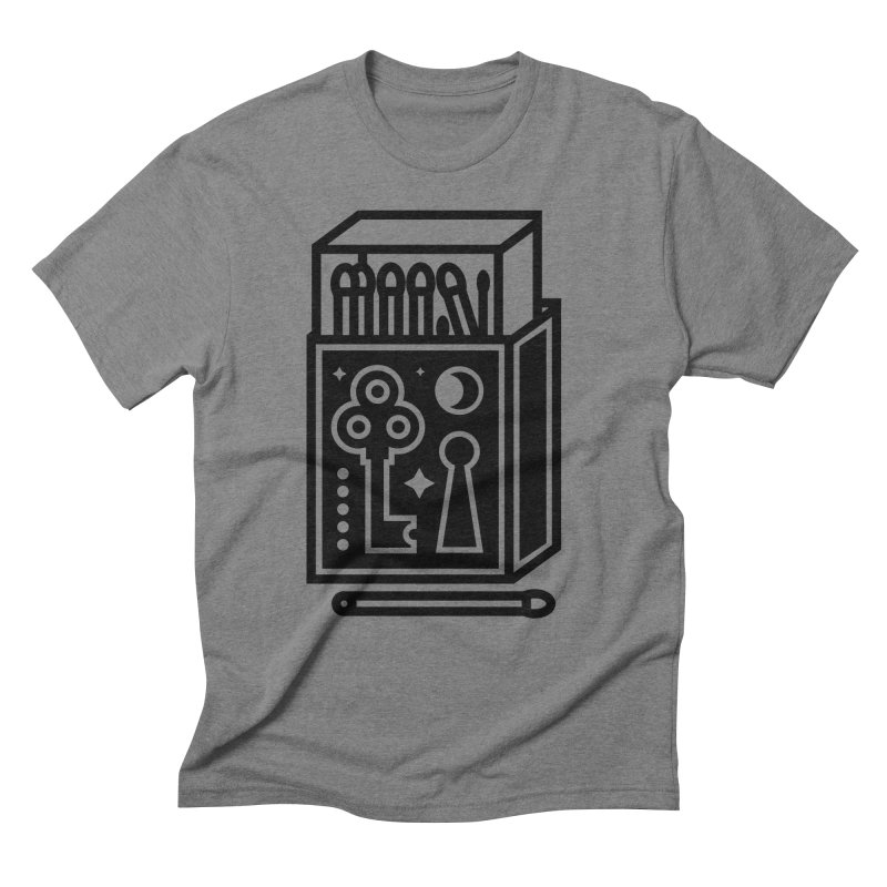 Matchbox Men's Triblend T-Shirt by Koivo's Artist Shop