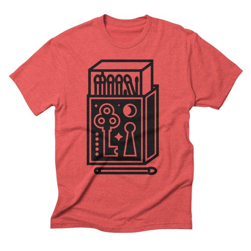 Matchbox Men's Triblend T-shirt by Koivo's Artist Shop