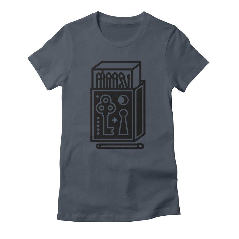 Matchbox Women's T-Shirt by Koivo's Artist Shop