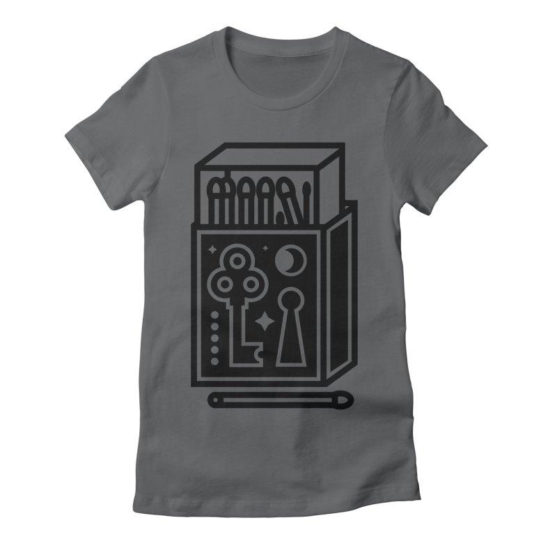Matchbox Women's Fitted T-Shirt by Koivo's Artist Shop
