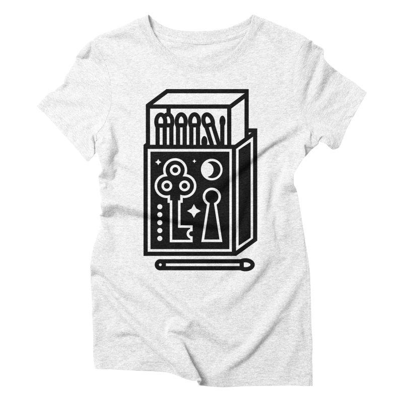 Matchbox Women's Triblend T-shirt by Koivo's Artist Shop