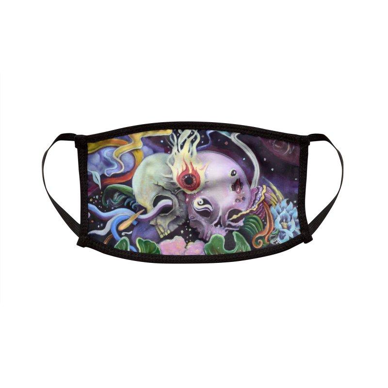 Lucid Awakening Accessories Face Mask by Kat Shevchenko's Artist Shop