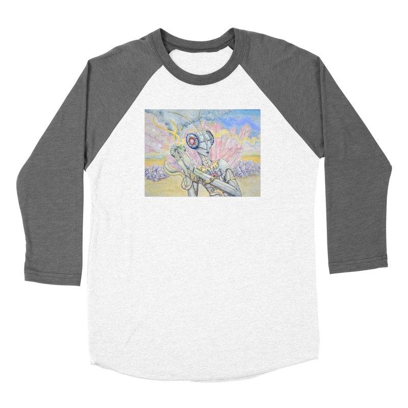 Crystal Mantis Women's Longsleeve T-Shirt by Kat Shevchenko's Artist Shop