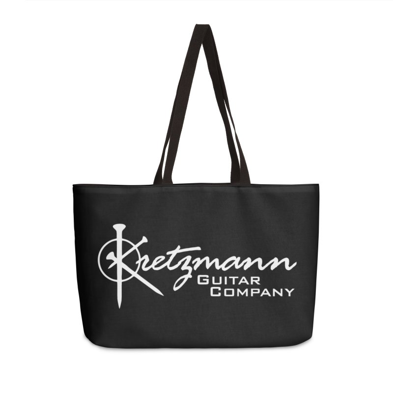 Kretzmann Guitars - Words Accessories Bag by Kretzmann Guitars's Shop