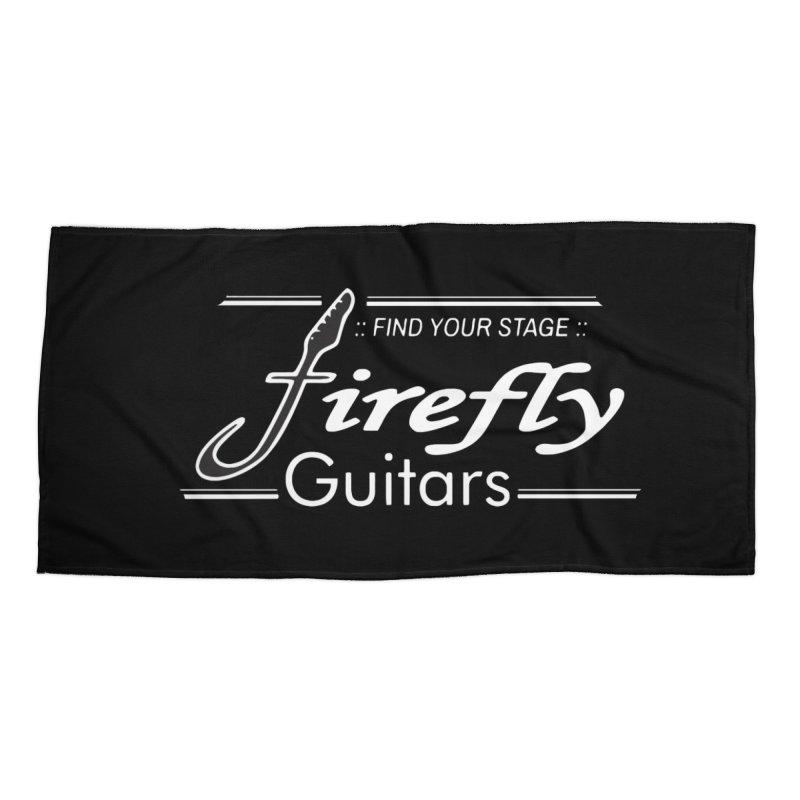 Firefly Guitars Gear Accessories Beach Towel by Kretzmann Guitars's Shop