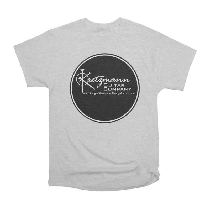 New Circle Logo - Kretz Guitar Co Men's T-Shirt by Kretzmann Guitars's Shop