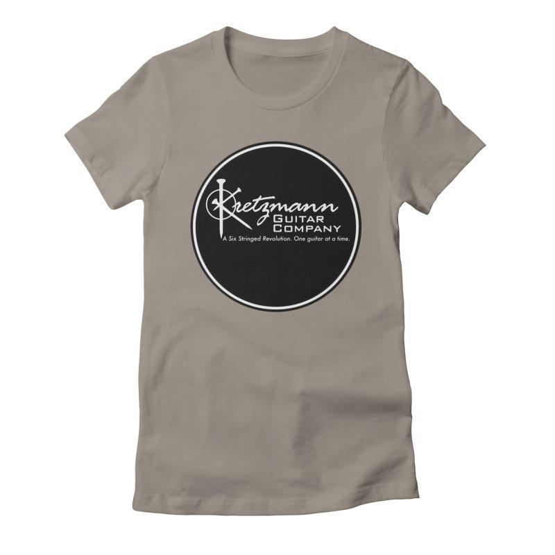 New Circle Logo - Kretz Guitar Co Women's T-Shirt by Kretzmann Guitars's Shop