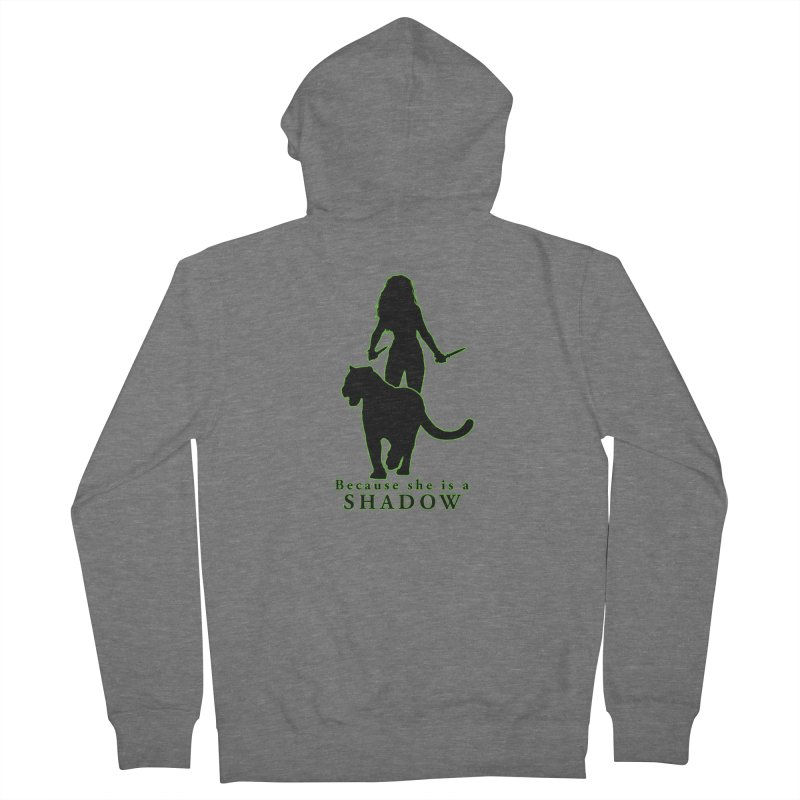 Because she is a shadow Women's Zip-Up Hoody by Kristen Banet's Universe