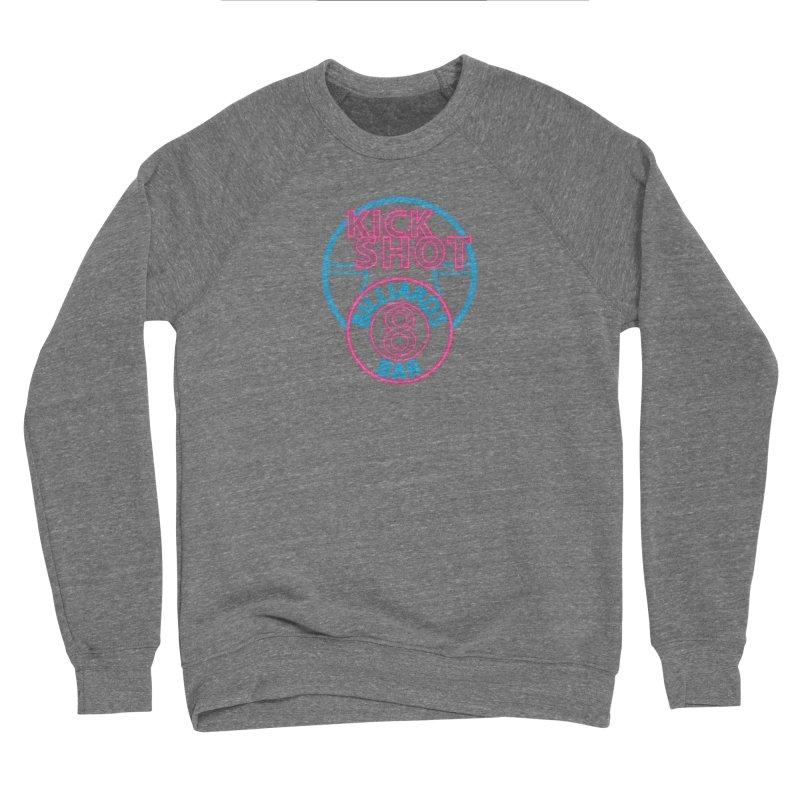 Kick Shot- Jacky Leon's Bar GLOW Men's Sweatshirt by Kristen Banet's Universe
