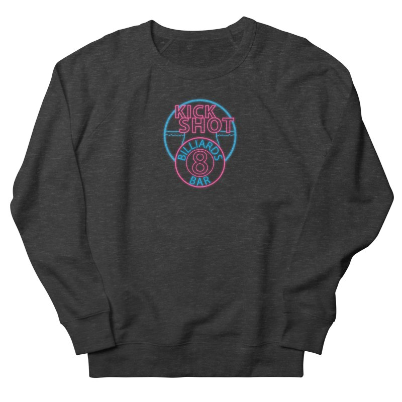 Kick Shot- Jacky Leon's Bar GLOW Women's Sweatshirt by Kristen Banet's Universe