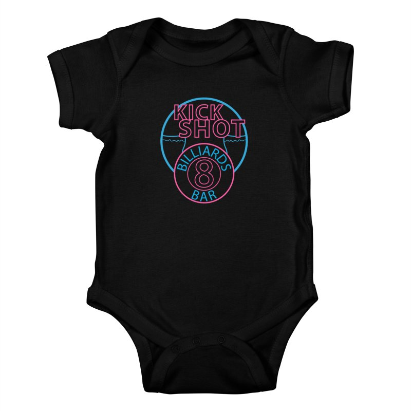 Kick Shot Kids Baby Bodysuit by Kristen Banet's Universe