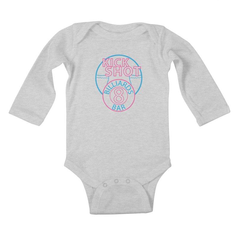 Kick Shot Kids Baby Longsleeve Bodysuit by Kristen Banet's Universe