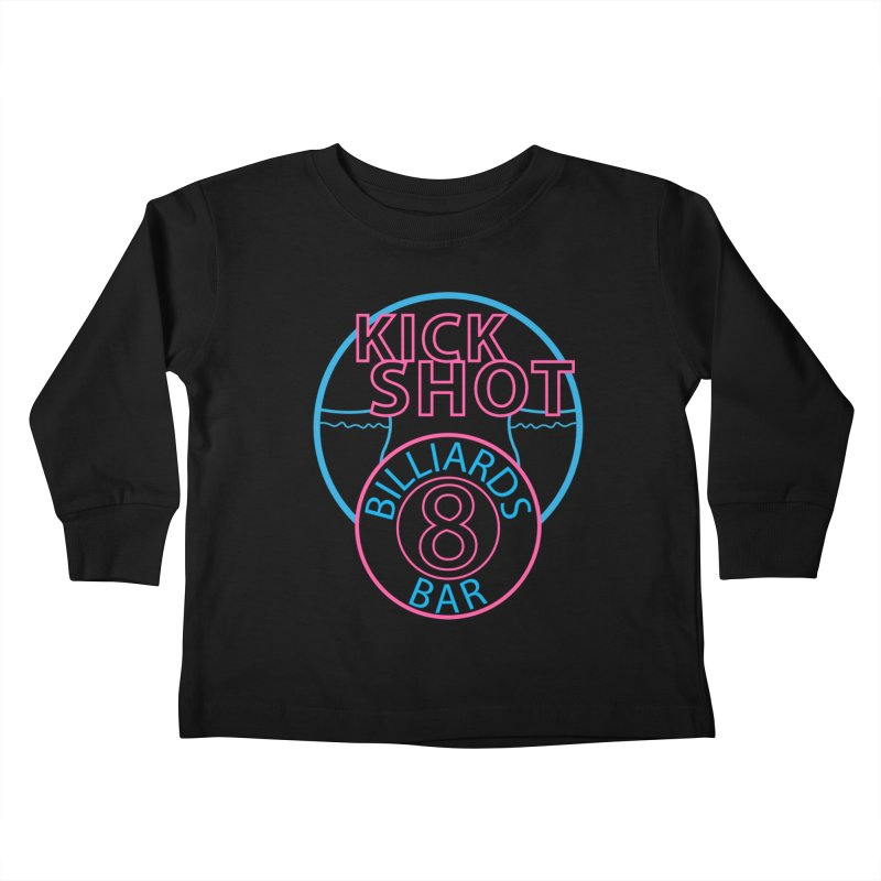 Kick Shot Kids Toddler Longsleeve T-Shirt by Kristen Banet's Universe
