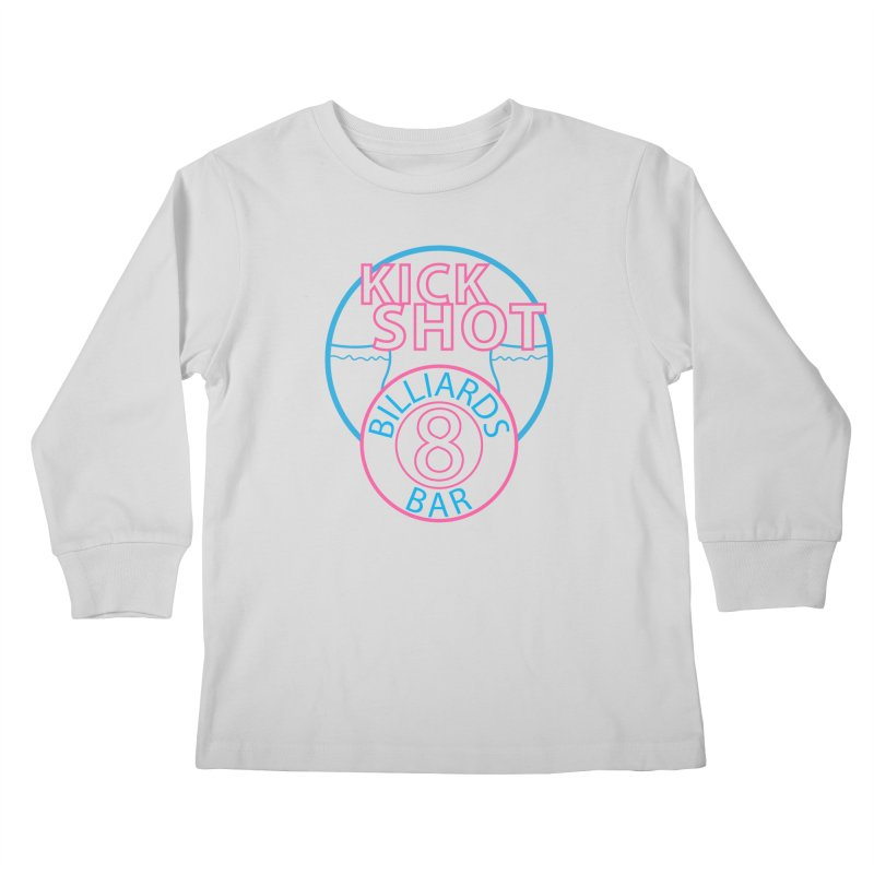 Kick Shot Kids Longsleeve T-Shirt by Kristen Banet's Universe