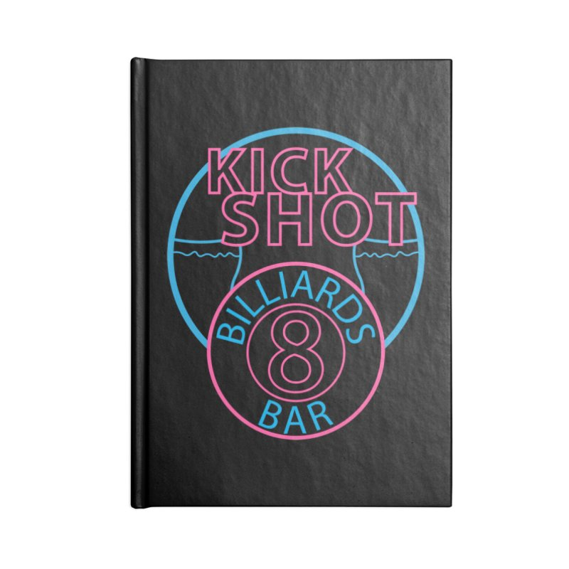 Kick Shot Accessories Notebook by Kristen Banet's Universe