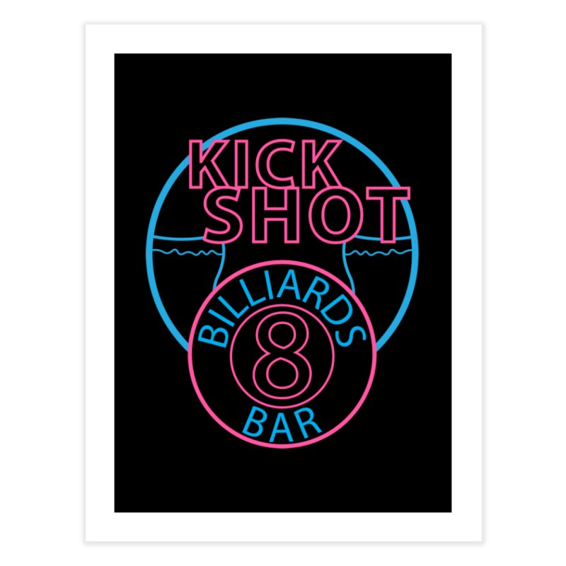 Kick Shot Home Fine Art Print by Kristen Banet's Universe