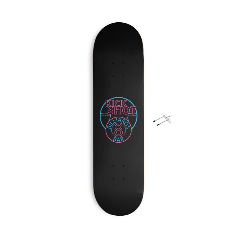 Kick Shot Accessories Skateboard by Kristen Banet's Universe