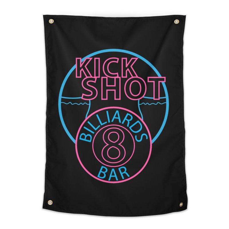 Kick Shot Home Tapestry by Kristen Banet's Universe
