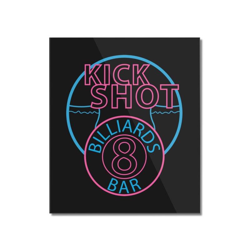 Kick Shot Home Mounted Acrylic Print by Kristen Banet's Universe