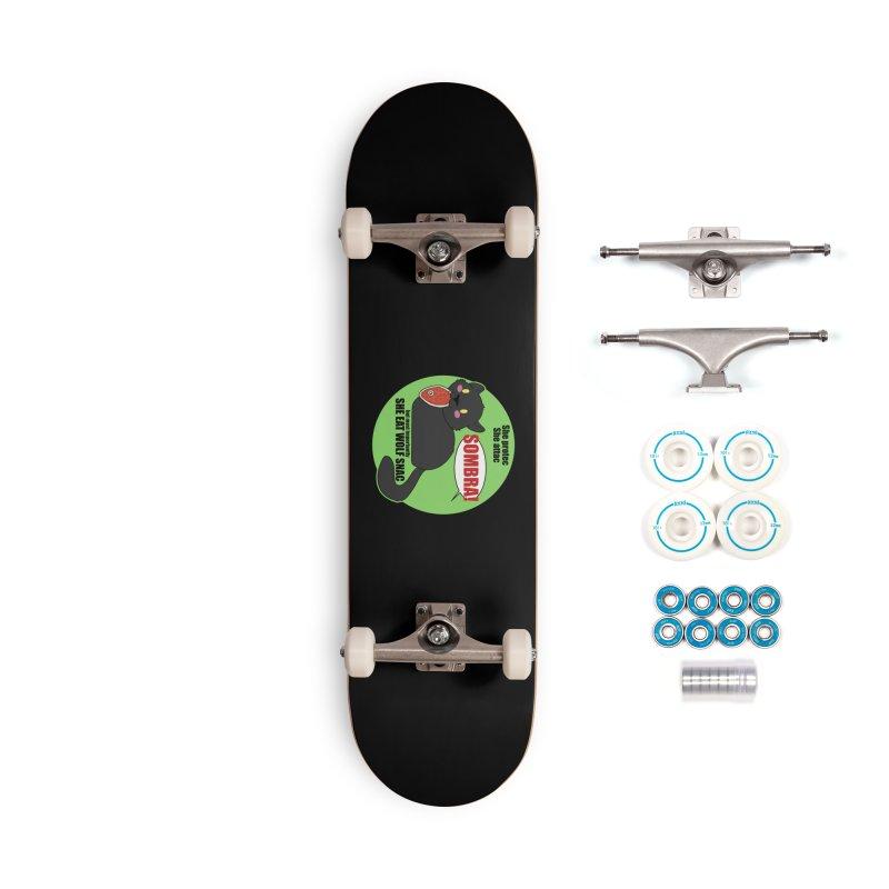 Sombra Meme Accessories Skateboard by Kristen Banet's Universe