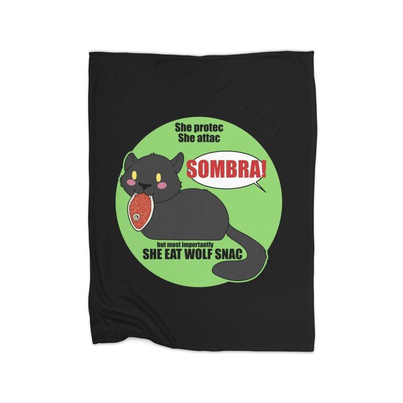Sombra Meme Home Blanket by Kristen Banet's Universe