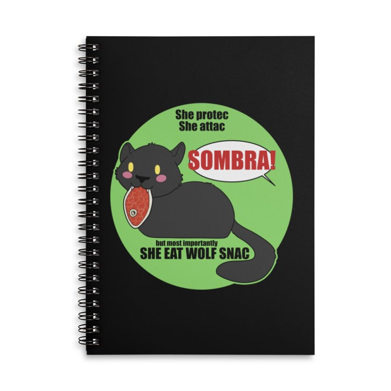 Sombra Meme Accessories Notebook by Kristen Banet's Universe