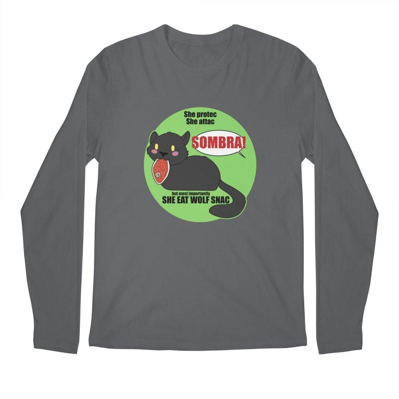 Sombra Meme Men's Longsleeve T-Shirt by Kristen Banet's Universe