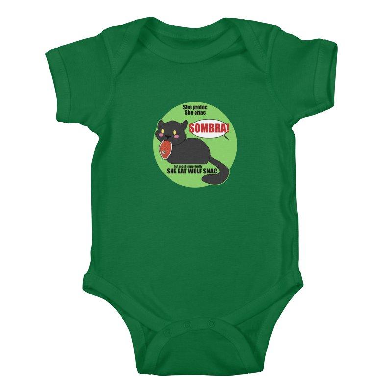 Sombra Meme Kids Baby Bodysuit by Kristen Banet's Universe