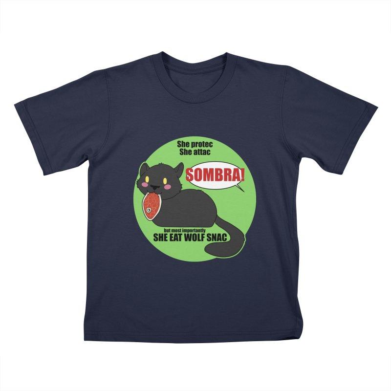 Sombra Meme Kids T-Shirt by Kristen Banet's Universe