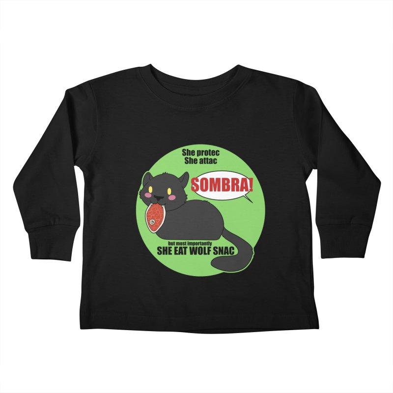 Sombra Meme Kids Toddler Longsleeve T-Shirt by Kristen Banet's Universe