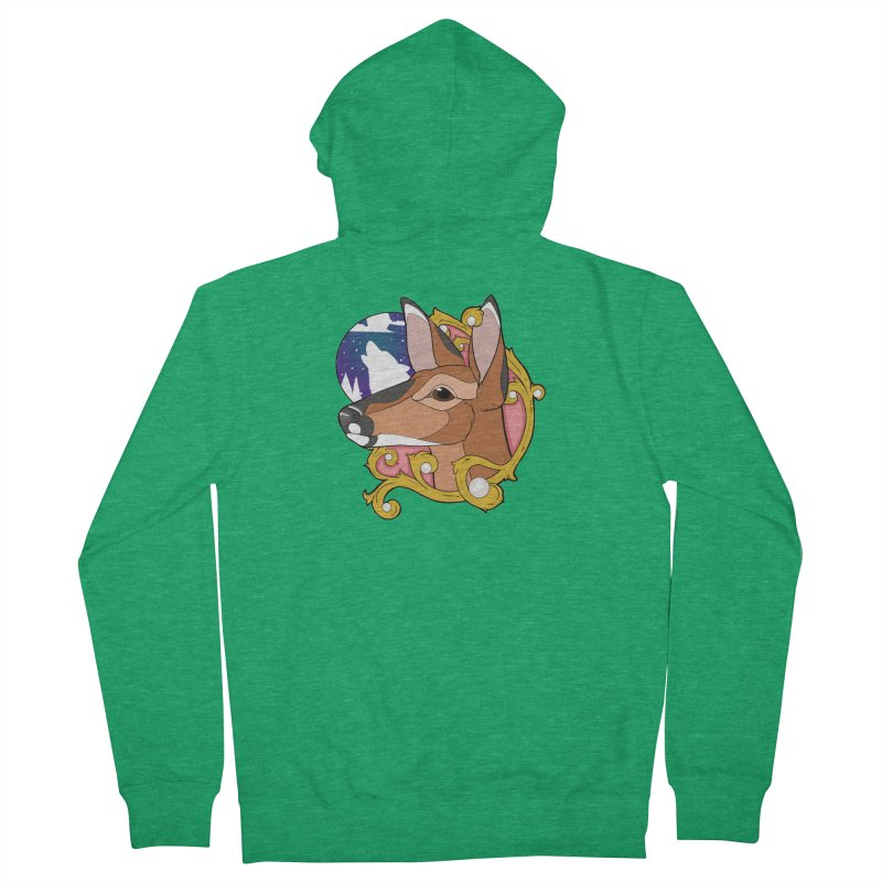 Abigail- The Innocent Doe (Full Color) Women's Zip-Up Hoody by Kristen Banet's Universe