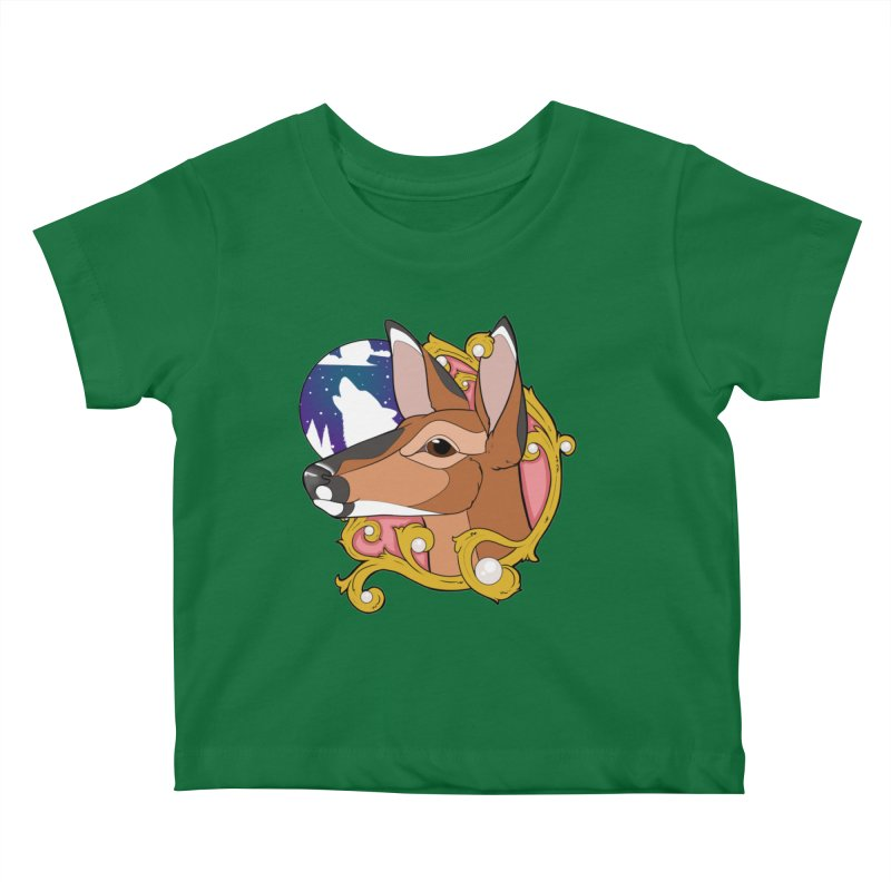 Abigail- The Innocent Doe (Full Color) Kids Baby T-Shirt by Kristen Banet's Universe