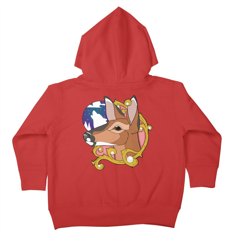 Abigail- The Innocent Doe (Full Color) Kids Toddler Zip-Up Hoody by Kristen Banet's Universe